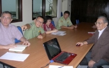 Meeting with Provincial Development Planning Board
