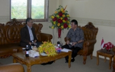 Discussion with District Secretary