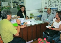 Courtesy visit with Dr. Aristides Tan, RD and Dr. Nimfa Torizo, ARD