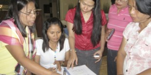 Bukidnon gender and climate change workshop